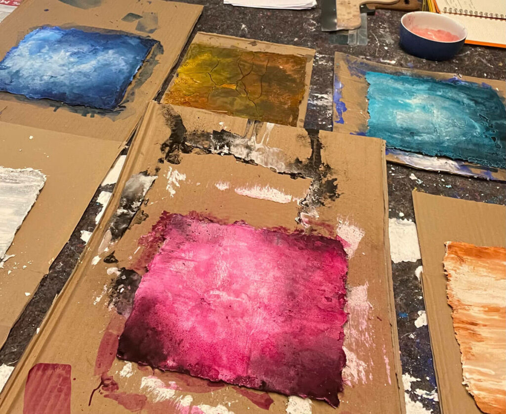 Artgalerie Work in progress