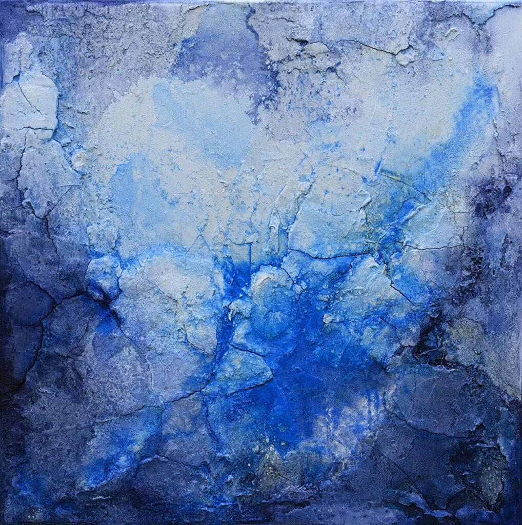 Blaue Stunde von der Künstlerin Andrea Penndorf