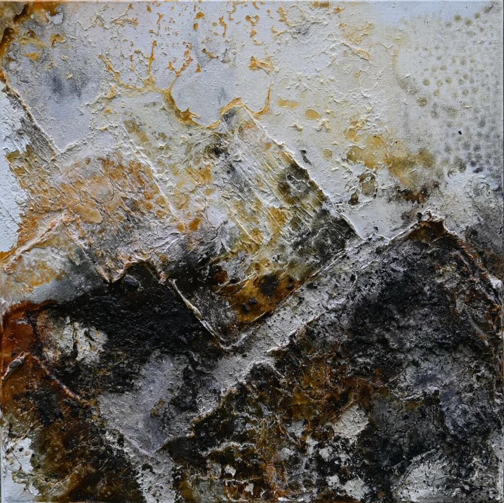 verbrannte Erde von der Künstlerin Andrea Penndorf